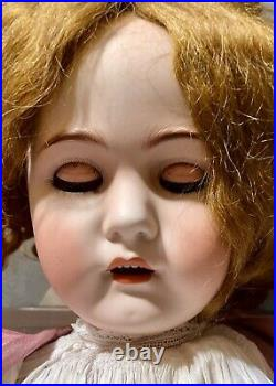 Antique Huge 36 Simon Halbig Doll withGreat Outfit