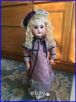 Antique Jumeau 18 DEP French Bisque Doll