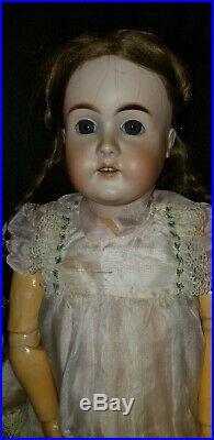Antique Karl Hartmann Large German Bisque Doll 32