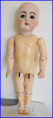 Antique Kestner 129 Bisque Socket Head 18 Child