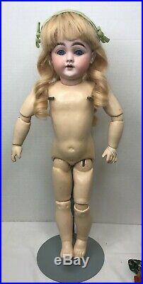 Antique Kestner 143 18 Doll German Bisque for Restoration doll hospital TS