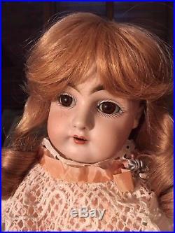 Antique Kestner 154 Bisque Doll 22 Germany Professional Vintage Accessories
