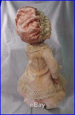 Antique Kestner Procelain Doll