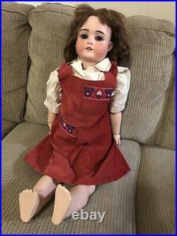 Antique Kley & Hahn K H 250 WALKURE 3 1/4 German Bisque Doll RARE 30 Kestner