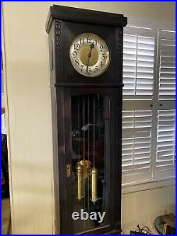 Antique Peerless German Grandfather Clock