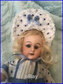 Antique S & H Simon & Halbig 8 Doll 1079 Sleep Eyes Bisque Head, Compo Body