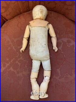 Antique Simon & Halbig /Carl Bergner 3 Face Doll RARE