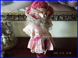 Antique Simon Halbig, Doll 939, Closed Mouth, 16, 2 Outfits, Layaway! $ Drop