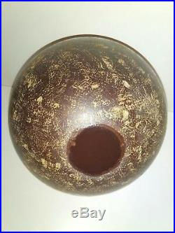 Antique Vintage 100% German Amber Bakelite Catalin Fiber Ball Faturan RAR