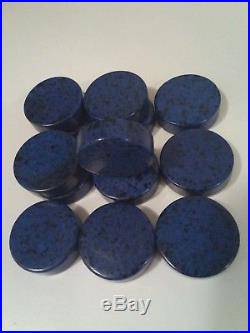 Antique Vintage 100% Old German Amber Bakelite Catalin Game Stone Marabe RAR