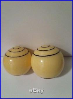 Antique Vintage 100% Old German Bakelite Catalin Balls Butterscotch Faturan RAR