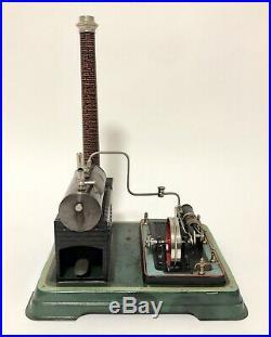 Antique Vintage Doll & Co German Live Steam Stationary Engine Horizontal Boiler