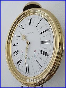 Antique Vintage GERMAN Hermle Comtoise Wall Clock (Mauthe Junghans Kienzle era)