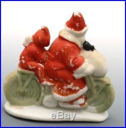 Antique / Vintage German Santa Snowbaby Snowbabies Hertwig Snow Baby Pixie Elf