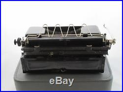 Antique Vintage Olympia Progress With Case Working New Ribbon German