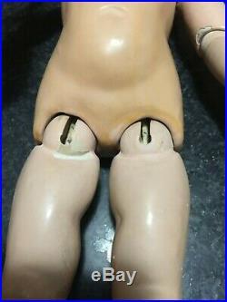 Antique doll bisque head composition body
