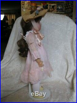 BEAUTIFUL 20 ANTIQUE BISQUE HEAD SIMON HALBIG KR DOLL with BJ COMPO BODY