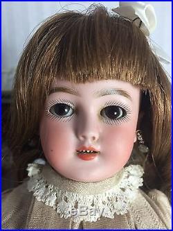 Beautiful 12 Antique German Santa Doll Simon & Halbig 1248 Bisque Head