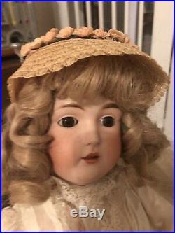 Beautiful Antique Doll Kestner 171. 26 Tall Original Dress Excellent Condition