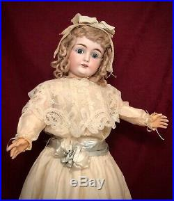 Beautiful Antique Kestner 146 German Bisque Doll with Marked Body