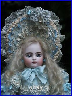 Beautiful Dress and Bonnet for Antique French or German doll