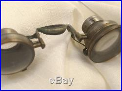 Carl Zeiss Antique German Jewelers Loupe Glasses Eyeglasses Steampunk VTG Early