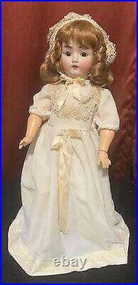 Catterfelder 264 Antique German Bisque Kestner Socket Head Wide Eyed Doll 19