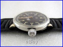 Doxa Laco Aviator German Pilot WW 2 Vintage 1939-1945 Swiss Men's Watch SERVICED