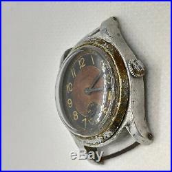 Etanche WW2 II Watch Vintage Military Men Rare German Wrist Army Wristwatch War