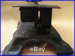GERMAN MADE CASIGE VINES & BERRIES Toy Sewing Machine Vintage Original Antique
