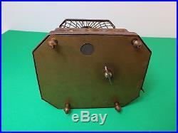 German Antique Singing Bird Cage Music Box Automation Vintage Karl Griesbaum