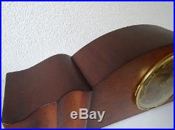 German Antique Vintage WESTMINSTER Mantel Clock (Junghans Kienzle era)