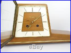 German JUNGHANS Vintage Clock Design Antique Shelf Mantel Clock (Kienzle Era)
