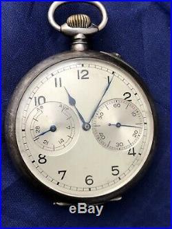 German Military A. Lange & Sohne Wwii Kriegsmarine U-boat Navigation Pocket Watch