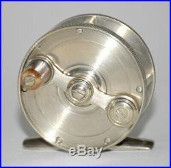 German Silver Meek Style FLY REEL Amazingly Well Made
