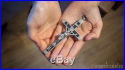 German WW2 Antique Chaplains Battle Field Cross/Crucifix Military Vintage Rare
