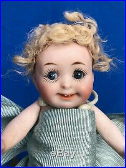 Glorious Antique All Bisque My Fairy Googly Character. No Damage No Repairs