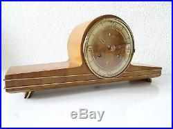HAID German Vintage Retro Antique Mantel Shelf Clock (Hermle Kienzle era)