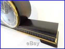 HERMLE German Vintage Antique Mantel Clock (Junghans Kienzle Warmink era)