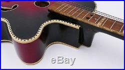 HÜTTL HOYER HOPF Archtop Vintage old German Guitar Alte Gitarre Antique 50er 60s