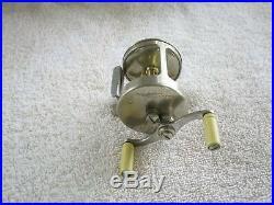 Heddon #45 German Silver baitcast reel