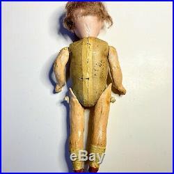 Hermann Steiner 8 inch Antique Bisque/Composition Character Doll 133 1