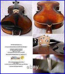 Interesting Old German Violin Video Antique Fine Rare 938
