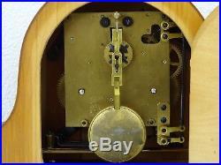 JUBA Schatz German Vintage Retro Antique Mantel Shelf Clock (Hermle Kienzle era)
