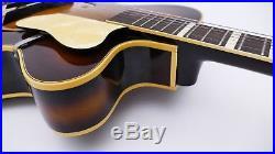 JUWEL Archtop Vintage German Jazz Acoustic old Guitar Alte Gitarre Antique 50er