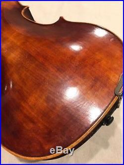 John Juzek Full Size 4/4 German Violin for Restoration (antique, vintage, old)