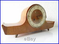 Junghans Vintage German Mantel Shelf Clock Antique 8 day (Hermle Kienzle era)