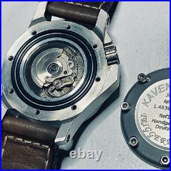 KAVENTSMANN Triggerfish 904L Rolex Steel 3000M Handmade German Diver Vintage ETA
