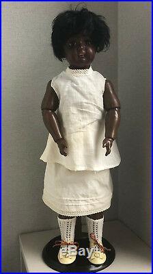 KESTNER antique doll brown, black, dark, mulatto in perfect condition
