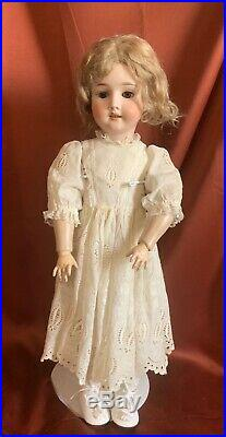 Kley & Hahn Special 65 (cm) 25 Bisque Doll Antique Chubby Cheek Dolly Face